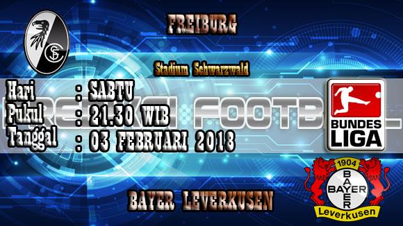 Hasil Prediksi Bola Freiburg vs Leverkusen 03 Januari 2018