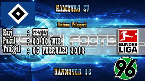 Prediksi Skor Hamburg SV vs Hannover 96 05 Januari 2018