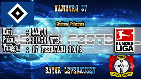 Prediksi Akurat Hamburger SV Vs Leverkusen 17 Februari 2018