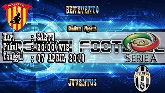 Prediksi Skor Akurat Benevento vs Juventus 07 April 2018