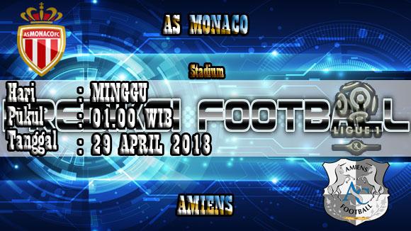 Prediksi Skor Akurat Monaco vs Amiens 29 April 2018