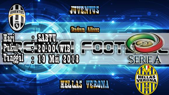 Prediksi Skor Akurat Juventus vs Verona 20 May 2018