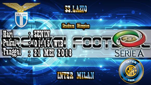 Prediksi Skor Akurat Lazio vs Inter Milan 21 Mei 2018